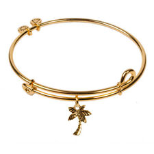 Bangle 18K Gold Plated Sol 240073 Palm Tree,
