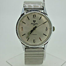 Vintage Nivada SP Croton Compensamatic AS ST 1950/51 Stainless Steel Watch