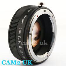 Zhongyi Focal Reducer Lens Turbo II Booster Nikon F AI to Sony E Adapter NEX-5T