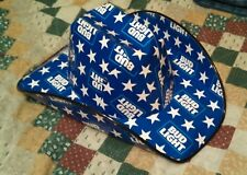 Bud Light Cowboy Hat made from boxes / cartons * Brand New * Budweiser