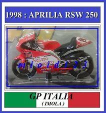 1/18 - ROSSI - APRILIA RSW 250 - 1998 Imola - Die-cast