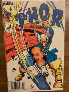 Thor 337 Newsstand High Grade Key Comic Book First Appearance