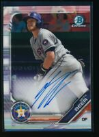 SETH BEER AUTO 1st 2019 Bowman Chrome Prospects Autograph Rookie Card RC
