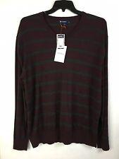 Cremieux Classics Sweater New Men's XL Burgundy 55% Cotton MSRP: $89.50