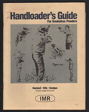 IMR Handloader's Guide For Smokeless Powder - 1995 Edition