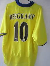 Arsenal 2002-2004 Bergkamp 10 Away Football Shirt Large adult gunners /34717
