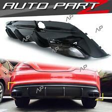 Diffusor + Auspuffblenden NightPaket für Mercedes Benz CLA C117 X117 CLA 45 AMG