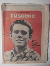 Louisville Times, TV Scene 7-2-1977. Ron Howard- Happy Days Cover & Feature!