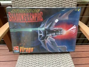 AMT STAR WARS SHADOWS OF THE EMPIRE VIRAGO MODEL KIT 1997 STILL FACTORY SEALED