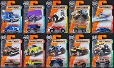 2017 Matchbox Wave D - All 10 Vehicles/GMC®/Freightliner®/Ghe-O/Zamboni®/MOC