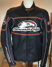 HARLEY DAVIDSON Men's LARGE Full Armor Screamin Eagle Leather Jacket
