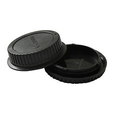 Enduring Best Body Cover + Lens Rear Cap for CANON EF Camera + Lens Protect ;