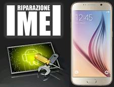 RIPARAZIONE IMEI SBLOCCO RETE SAMSUNG GALAXY S6 S6 EDGE G920F/FD G925F/FD UNLOCK
