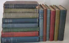 Vintage School Books Lot of 15 Random Hardcover Shabby Books Shelf Room Decor