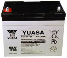 Yuasa REC36-12, 12v 36Ah Battery Replaces NPC30-12, YPC33-12, YC33-12, TEV12360