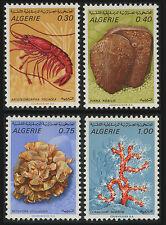 ALGERIE N°510/513** Animaux marins 1970, ALGERIA marine animals MNH
