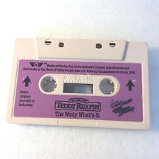 Vintage 1985 The Wooly What's-It Cassette Tape for Teddy Ruxpin Bear