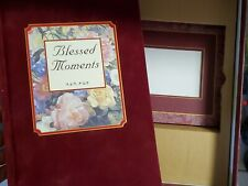 """New listing 1999 publications international """"blessed moments"""" book & 2 pictures frames set"""