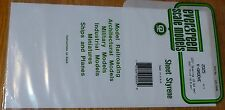 "Evergreen Styrene #2025 / 6 x 12"" Styrene Siding Sheet, V-Groove .020"" Thick-"