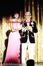 Original Photo 35mm Slide Sonny & Cher Show Cher & George Burns Rare! # 7