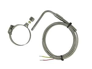 """Temperature EGT Sensors K Type Clamp 1~2""""  & Adjustable Insert Length & 2m Cable"""