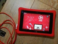 "NABI 2 SNB02-NV7A 8GB 7in"" Kids tablet, Wi-Fi W/ red bumper! Free Shipping!"