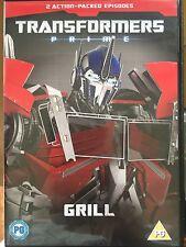 trasnformers Prime -Parrilla-Retro CULTO niños TV Dibujos GB DVD