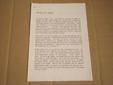 Patricia Kaas-PROMO-Info de la maison de disques de 1991