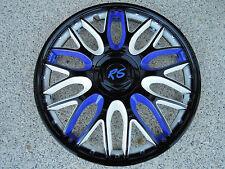 DER HAMMER HIER !!! 4 Alu Design Radkappen Orden blau/weiß in 13 Zoll