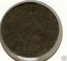 UK, Great Britain - 1730 GEORGE II  - Half Penny -