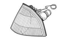 Gruppo ottico fanale anteriore ALFA ROMEO 33 II