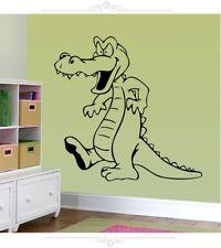Crocodile Wall Sticker Decal  Bedroom Nursery Playroom Removable Home Decoration