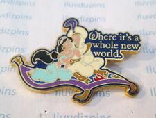 Aladdin Jasmine Flying Magic Carpet - Where Its A Whole New World Disney '07 Pin