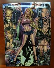 1997 - Darkchylde Complete Chromium Trading Card Set - Krome Productions - Hot!