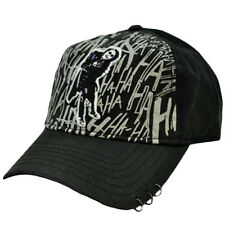 Batman DC Comics The Dark Knight Joker Heath Ledger Black Gray  Hat Cap