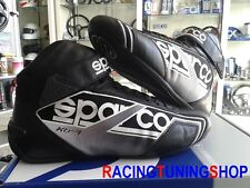 SCARPE KART SPARCO NEW SHADOW kb7 46 black KARTING RACE BOOTS  SHOES SCHUHE