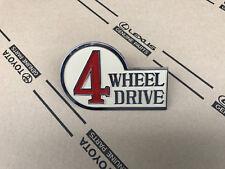 Toyota Land Cruiser BJ40 Heckklappe Emblem Logo Schriftzug 4 Wheel Drive Emblem