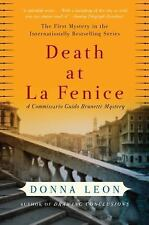 Death at La Fenice by Donna Leon FREE SHIPPING paperback book Brunetti Mystery 1