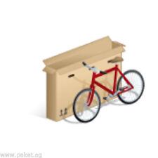 Fahrradkarton 1600x200x800 mm - Sehr stabil - Doppelwellig - DHL Gurtmaß 360