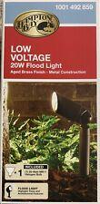 Hampton Bay HALOGEN Low Voltage 20W Landscape Flood Light 1001 492 859