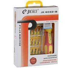 SET 33 IN 1 JACKLY JK6032-B CACCIAVITE COMPRESO DI TWEEZER E PROLUNGA DA 60 MM