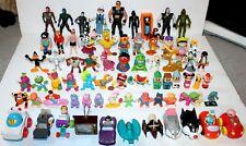 1970's 80s 90s Vintage Toys Figures 70 Pc Lot Sesame Street Looney Tunes Barney+
