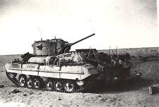 WWII English UK Tank- Africa- Valentine MK III Tank- Private Archive Photo