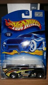 Hot Wheels 2000 41 Willys Collector Number 110 card No. 50640