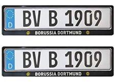 Borussia Dortmund Kennzeichenhalter/Nummernschildhalter ** 2er Set.*Top*
