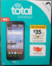 Total Wireless TCL LX 4G LTE Prepaid Smartphone - NEW