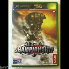 Unreal Championship GIOCO GAME XBOX PAL IT NO 360 come nuovo