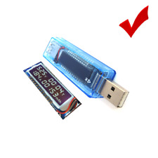 Portable USB Charger Check Capacity Current Voltage Display Detect Battery Meter
