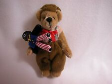 "World of Miniature Bears 3"" Plush Bear Fred #682 CLOSING"