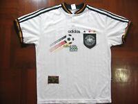 ADIDAS GERMANY EURO 1996 HOME FOOTBALL SOCCER JERSEY SHIRT M VINTAGE TRIKOT